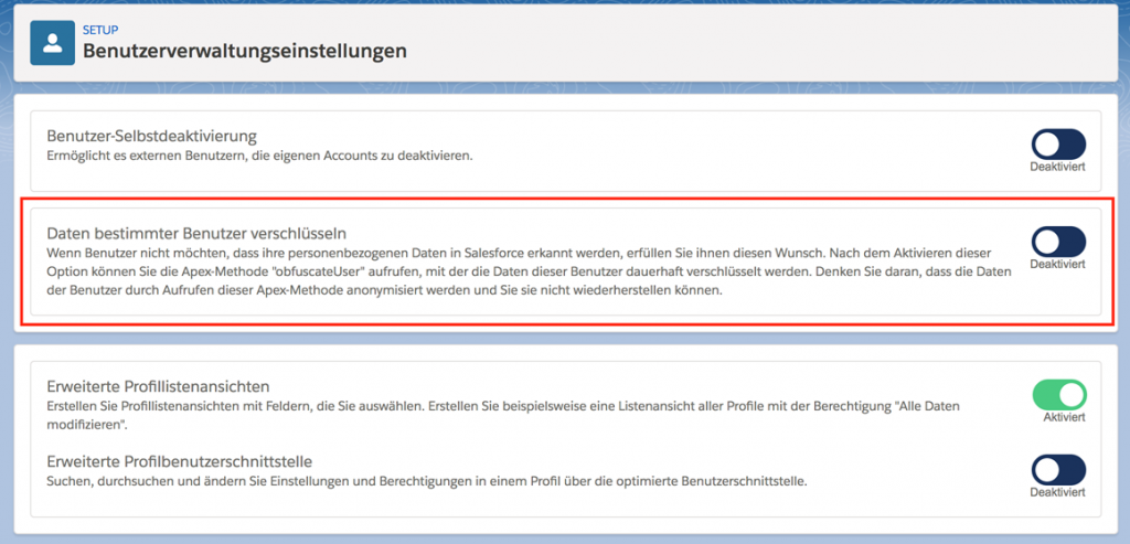 IBS Technology - Blog - DSGVO Support in Salesforce Sommer 2018