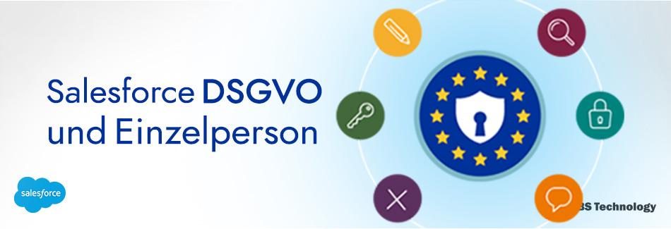 Salesforce DSGVO und Einzelperson