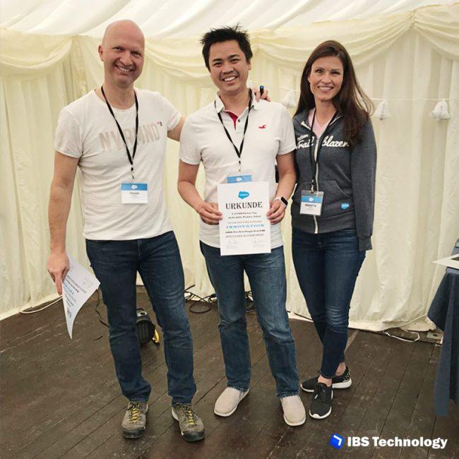 IBS Technology - Blog - Salesforce Innovation Award