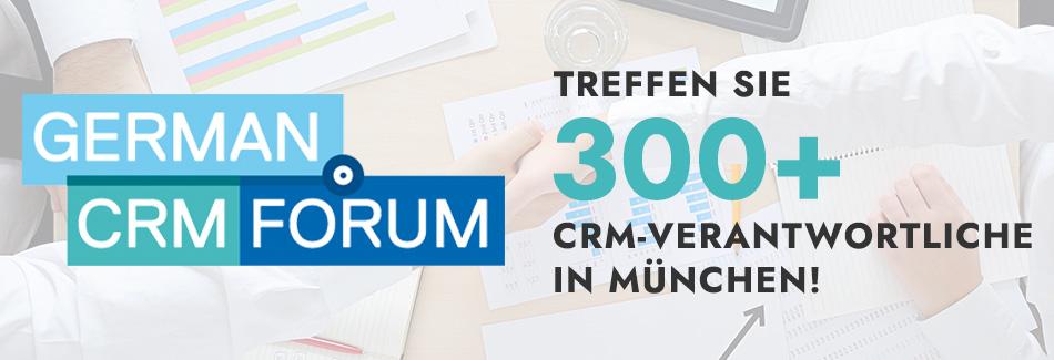 Wir halten beim German CRM Forum die Salesforce-Fahne hoch