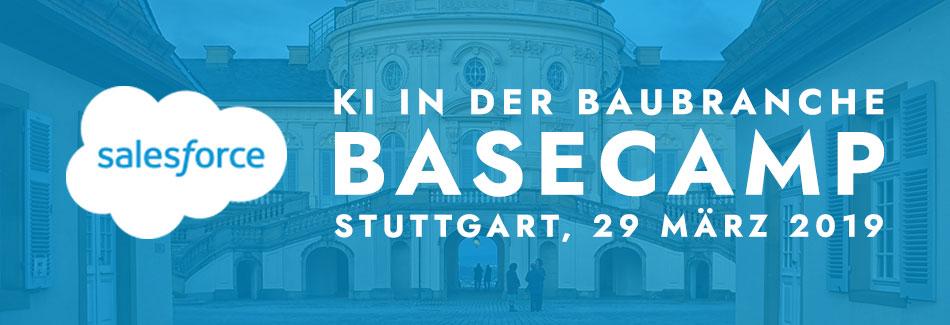 KI in der Baubranche – Salesforce Basecamp in Stuttgart