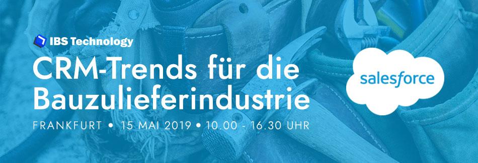 KI für Bauzulieferer: der Branchen-CRM-Event in Frankfurt